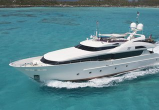 Invictus Charter Yacht at Fort Lauderdale Boat Show 2015