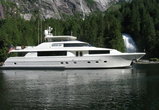 Desperado Charter Yacht at Palm Beach Boat Show 2015
