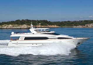 Active Octo Charter Yacht at Palm Beach Boat Show 2014