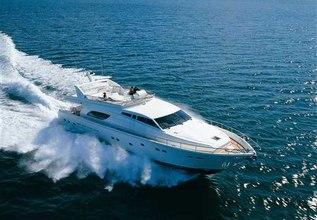 Kentavros II Charter Yacht at Mediterranean Yacht Show 2017