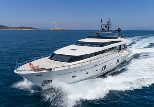 Dinaia Charter Yacht at Mediterranean Yacht Show 2019