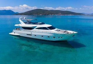 Freedom Charter Yacht at Mediterranean Yacht Show 2018