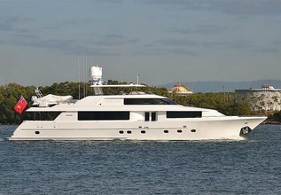 Ubiquitous Charter Yacht at Fort Lauderdale Boat Show 2017