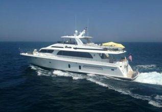 Scott Free Charter Yacht at Miami Yacht Show 2020