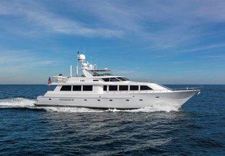 Cru Charter Yacht at Palm Beach Boat Show 2018