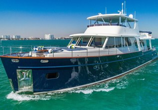 Moni Charter Yacht at Fort Lauderdale Boat Show 2015