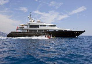 Silver Dream Charter Yacht at Monaco Grand Prix 2016