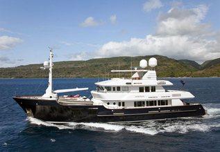 Koi Charter Yacht at MYBA Charter Show 2013