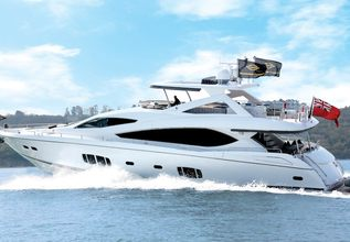 Veuve Charter Yacht at Monaco Grand Prix 2014