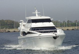 No Buoys Charter Yacht at Palm Beach Boat Show 2014
