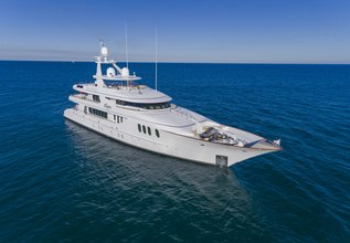 Amica Mea Charter Yacht at Fort Lauderdale Boat Show 2015