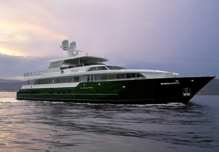 Serque Charter Yacht at Fort Lauderdale Boat Show 2015