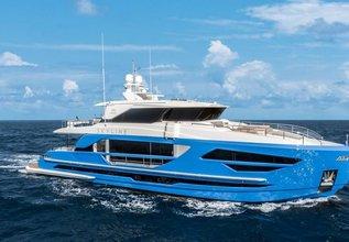 Skyline Charter Yacht at Palm Beach Boat Show 2018