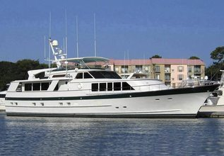 Adventurer Charter Yacht at Fort Lauderdale Boat Show 2014
