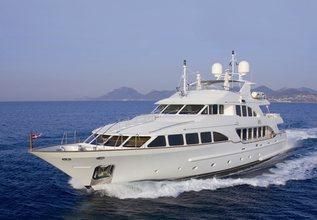 Mamma Mia Charter Yacht at Fort Lauderdale International Boat Show (FLIBS) 2021