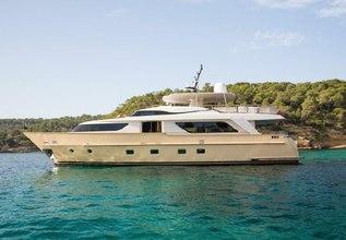 Lady Jane Charter Yacht at Palma Superyacht Show 2014