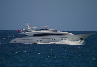 Evelyn Charter Yacht at Palm Beach Boat Show 2018