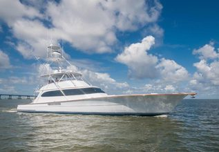 Remain Calm Charter Yacht at Fort Lauderdale Boat Show 2015