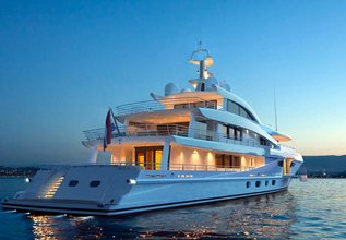 Volpini 2 Charter Yacht at Monaco Yacht Show 2018