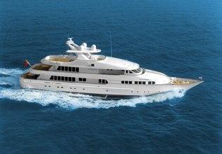 Herculina Charter Yacht at Monaco Yacht Show 2018