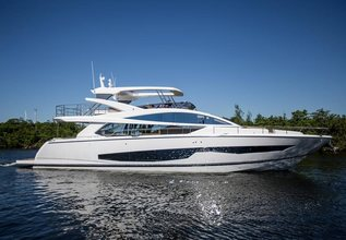 Pearl 80/01 Charter Yacht at Miami Yacht Show 2018