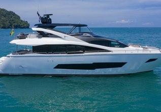 Pura Vida Charter Yacht at Miami Yacht Show 2020