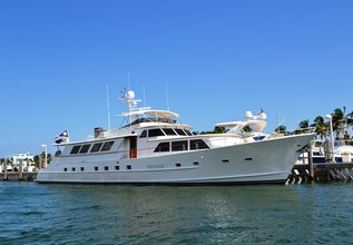 Lady Arden Charter Yacht at Fort Lauderdale Boat Show 2015