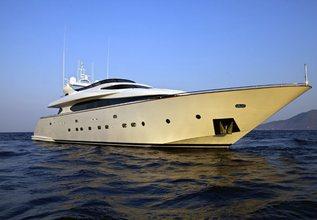 Marnaya Charter Yacht at Mediterranean Yacht Show 2017