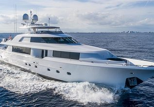 Westport 112 Charter Yacht at Palm Beach Boat Show 2019