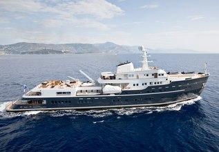 Legend Charter Yacht at Monaco Grand Prix Yacht Charter