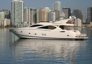 Pastabilities Charter Yacht at Fort Lauderdale Boat Show 2014