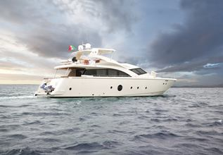 QUESTA è VITA Charter Yacht at East Med Yacht Show 2018