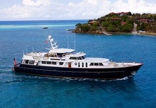 Chanticleer Charter Yacht at Caribbean Superyacht Regatta 2013