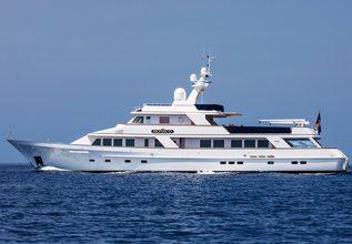 Monaco Charter Yacht at Monaco Yacht Show 2015