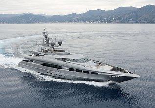 Mrs L Charter Yacht at MYBA Charter Show 2014