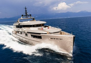 Giraud Charter Yacht at Mediterranean Yacht Show 2017
