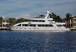 Inspired Charter Yacht at Fort Lauderdale Boat Show 2015