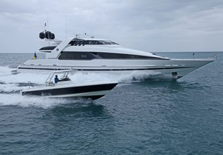 Impulsive Charter Yacht at Fort Lauderdale Boat Show 2015