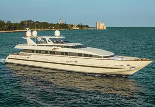 Meridiana Charter Yacht at Cannes Yachting Festival 2015