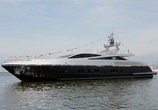Flying Dagger Charter Yacht at Monaco Yacht Show 2017