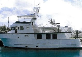 Lora Charter Yacht at Palm Beach Boat Show 2014