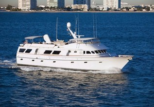 Georgiana Charter Yacht at Palm Beach Boat Show 2014