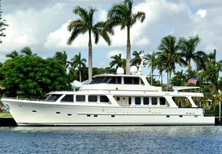Lucky Lady Charter Yacht at Fort Lauderdale Boat Show 2019 (FLIBS)