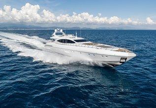 Asya Charter Yacht at Monaco Yacht Show 2015