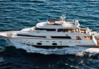Pinnacle Charter Yacht at Mediterranean Yacht Show 2018