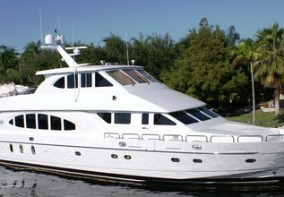 Lady Deanne V Charter Yacht at Fort Lauderdale Boat Show 2016