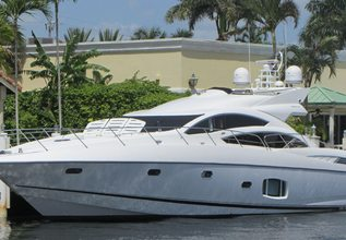 Eagle II Charter Yacht at Miami Yacht Show 2019