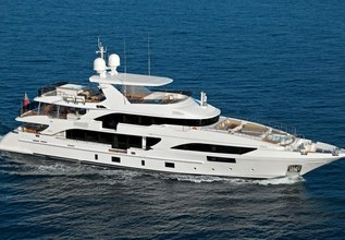 Oryx Charter Yacht at Monaco Yacht Show 2014