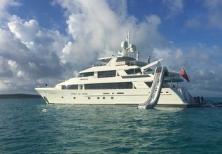 Tasia Charter Yacht at Fort Lauderdale Boat Show 2019 (FLIBS)