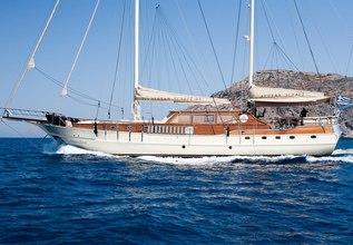 Aegean Schatz  Charter Yacht at Mediterranean Yacht Show 2017